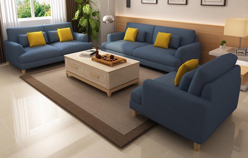 Vị trí đặt sofa trong phòng khách giúp gia chủ vận khí gia tăng