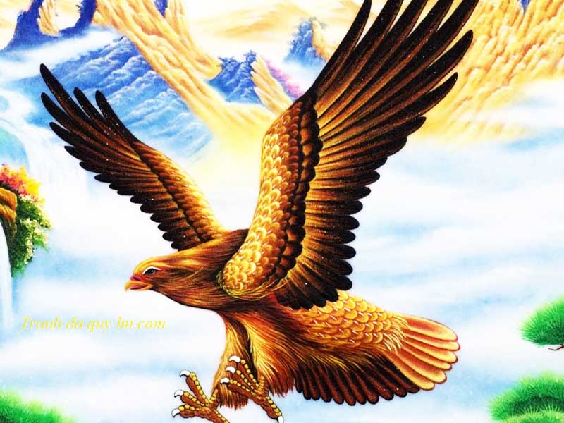 Đại bàng phong thủy- Gia chủ thăng quan vạn phúc về nhà