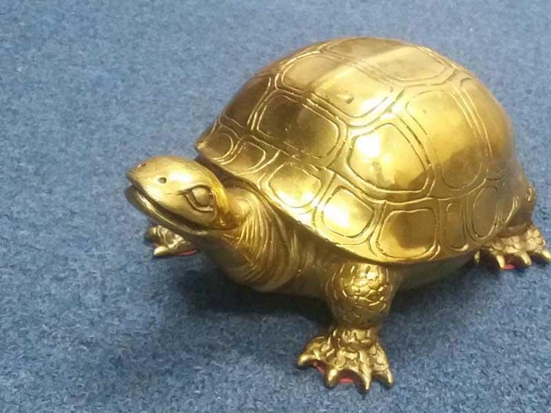 Rùa phong thủy-Vật phẩm chiêu tài phát lộc