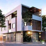 Thiết kế và lựa chọn nhà ở hợp phong thủy mặt tiền